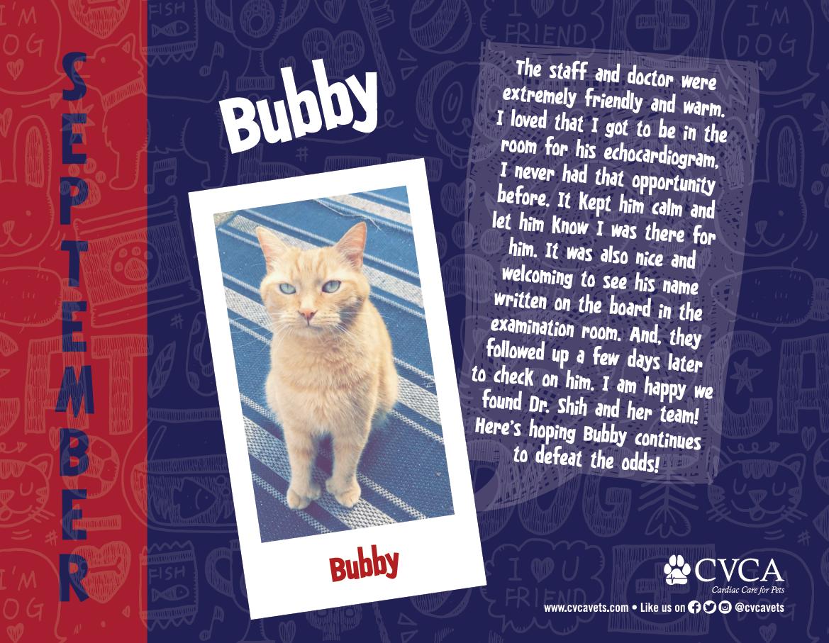 Bubby - September